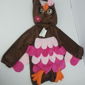 NWT kids size 3T owl costume